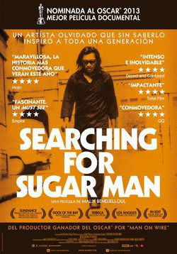Cartel de Searching for Sugar Man