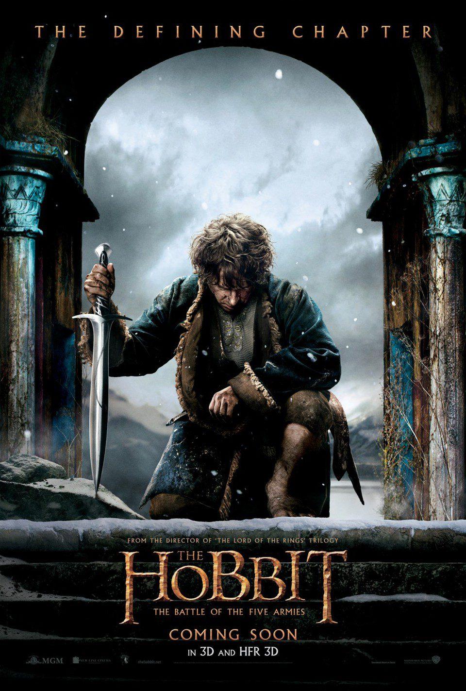 Cartel Estados Unidos de 'El Hobbit: La batalla de los cinco ejércitos'