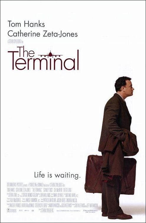 Cartel EEUU de 'La terminal'