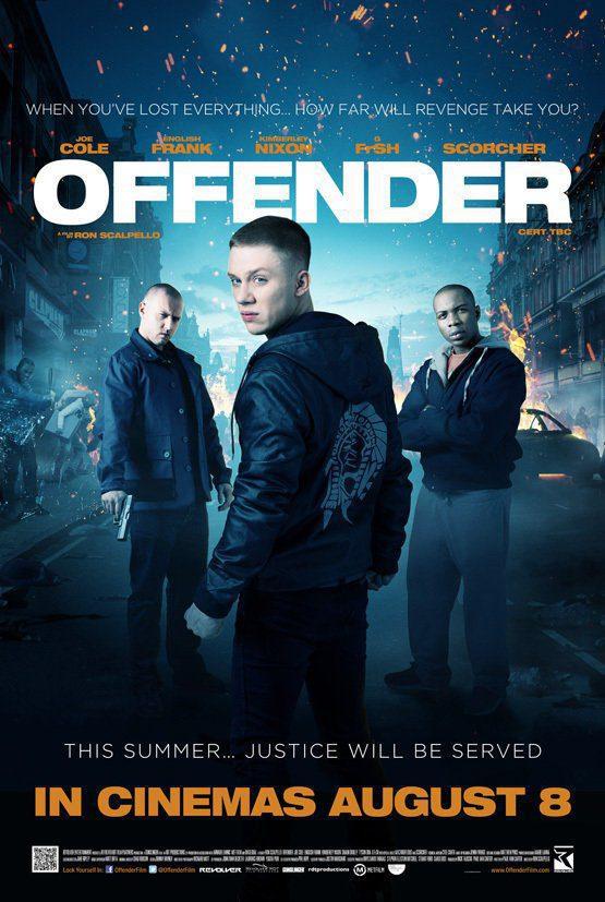 Cartel Reino Unido de 'Offender'