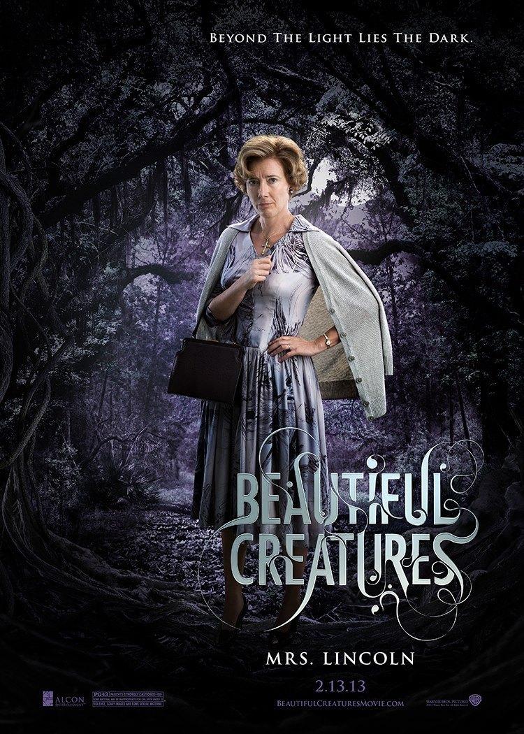 Cartel Mrs. Lincoln de 'Hermosas criaturas'