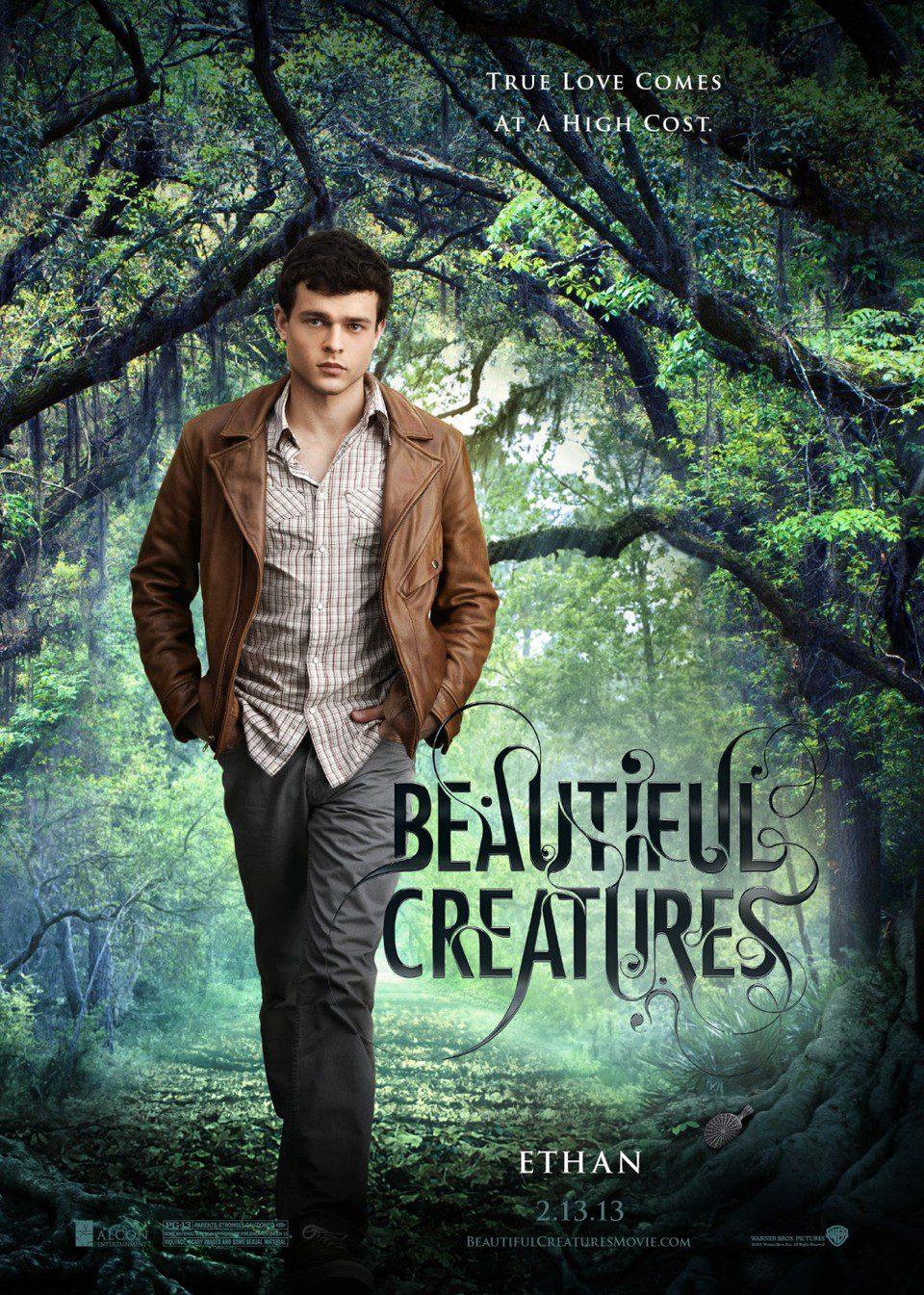 Cartel Ethan de 'Hermosas criaturas'