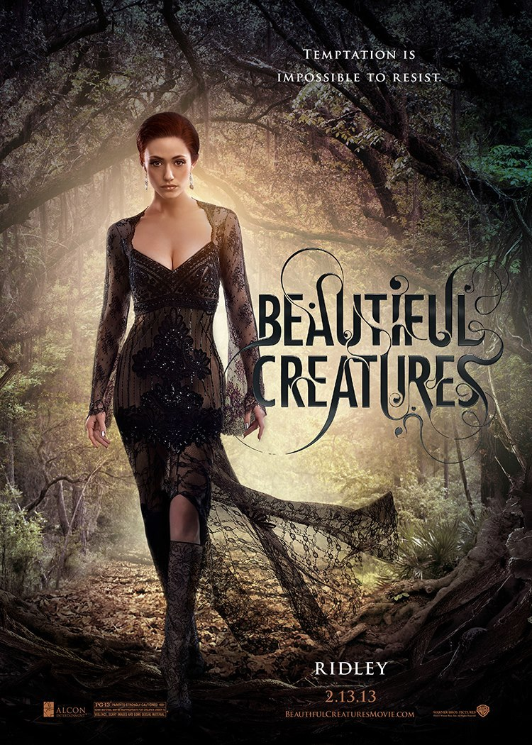 Cartel Ridley de 'Hermosas criaturas'