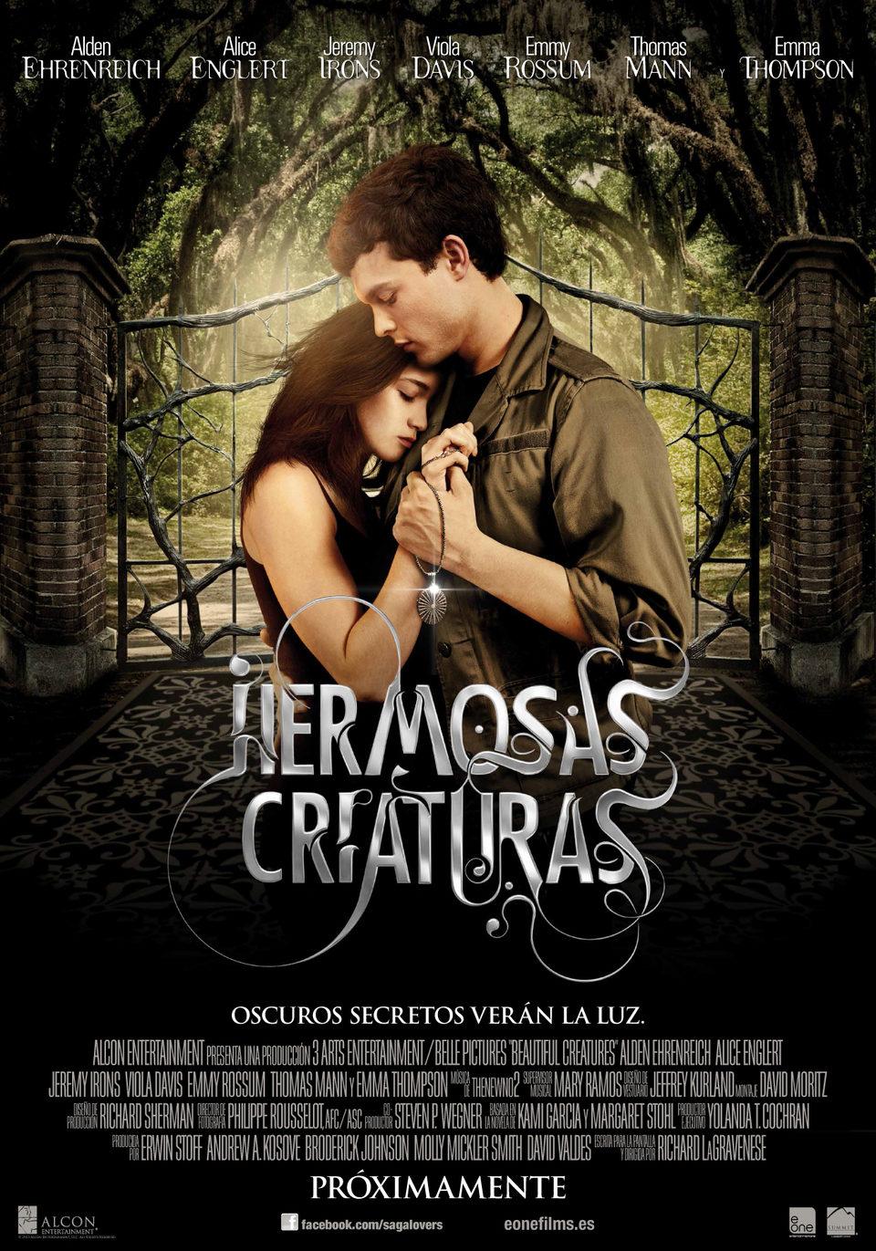 Cartel España 3 de 'Hermosas criaturas'