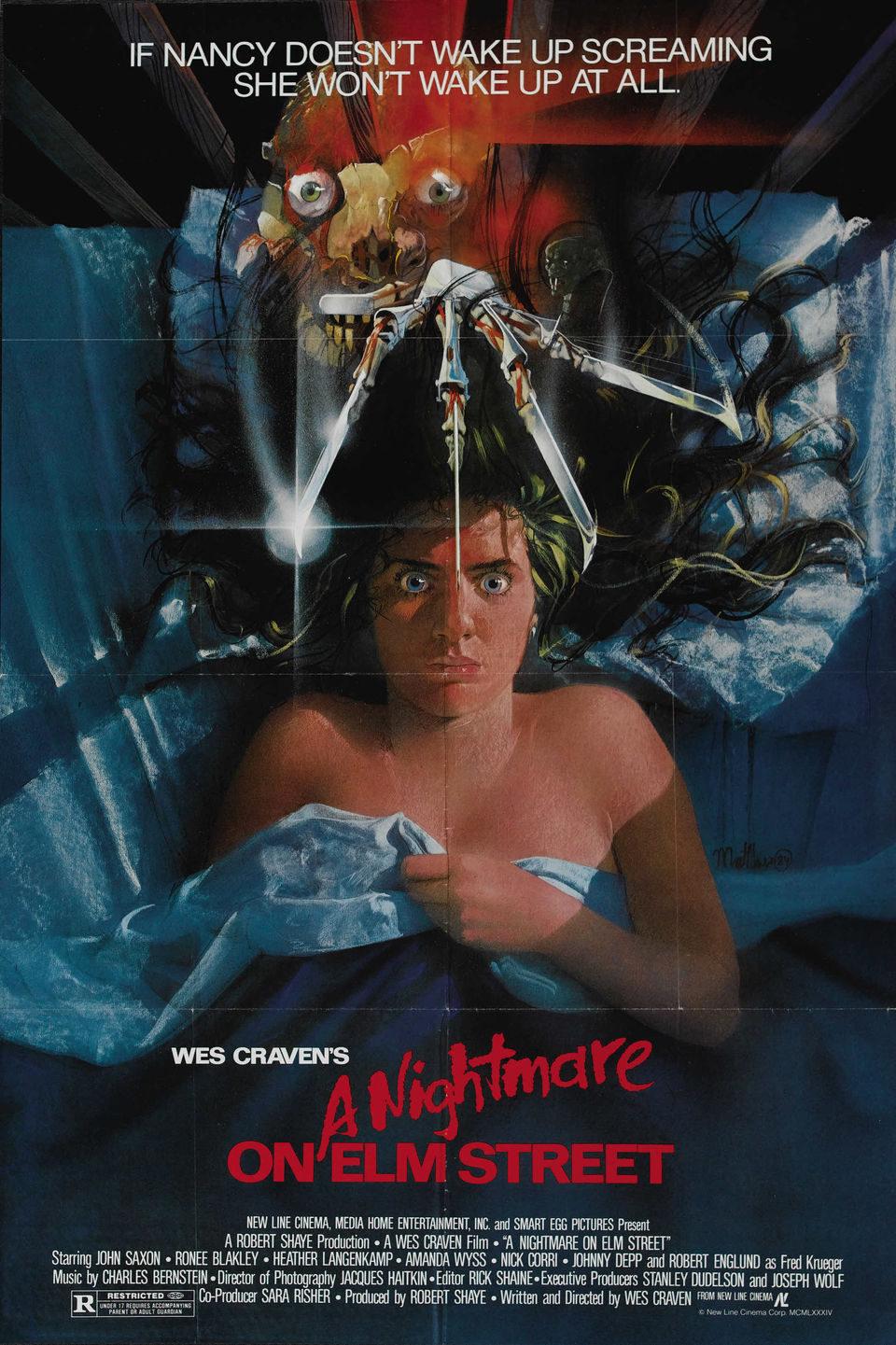 Cartel Estados Unidos de 'Pesadilla en Elm Street'