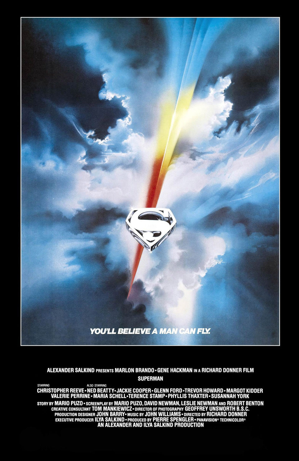 Cartel Estados Unidos de 'Superman'