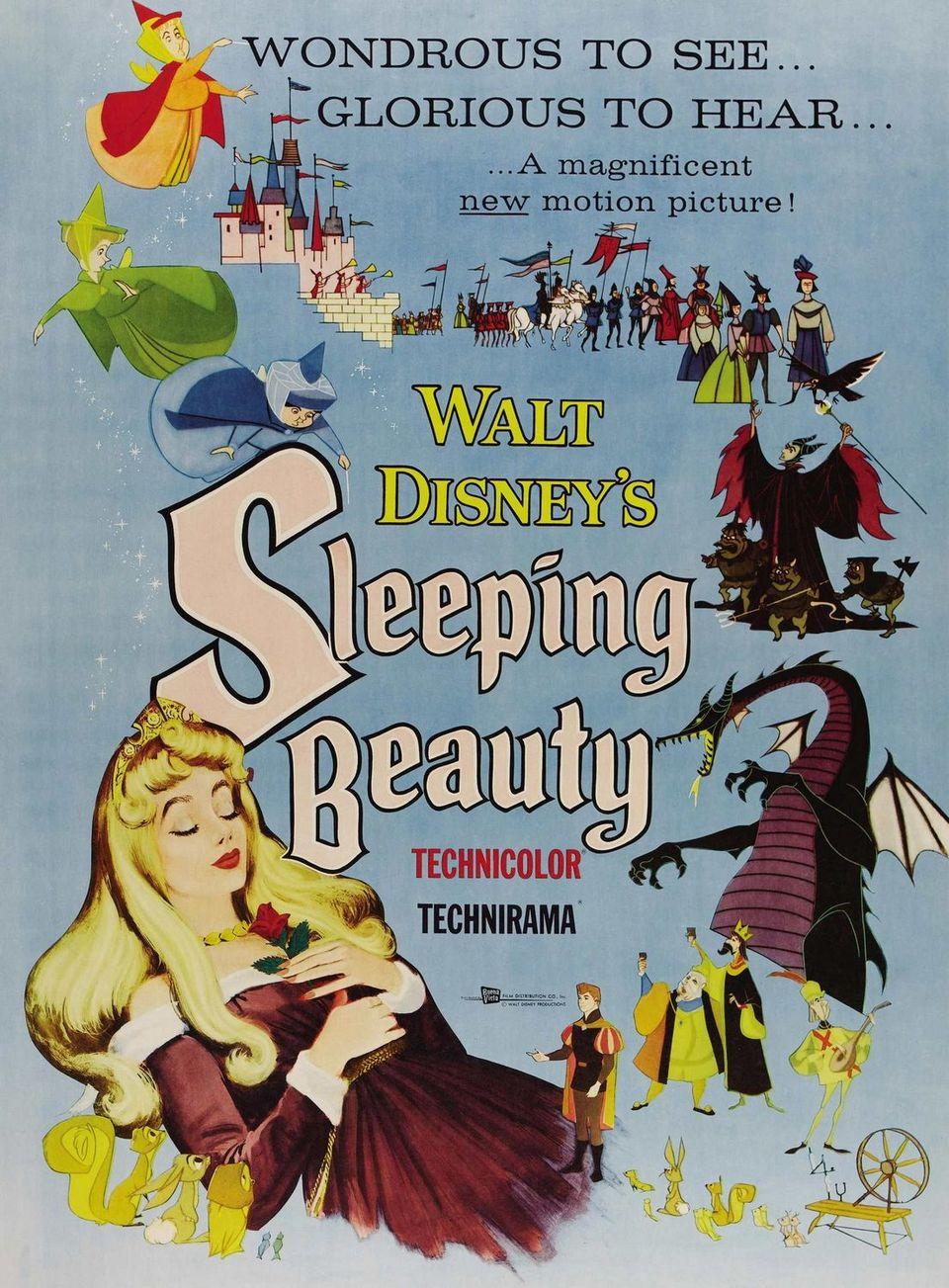 Cartel Estados Unidos de 'La bella durmiente'