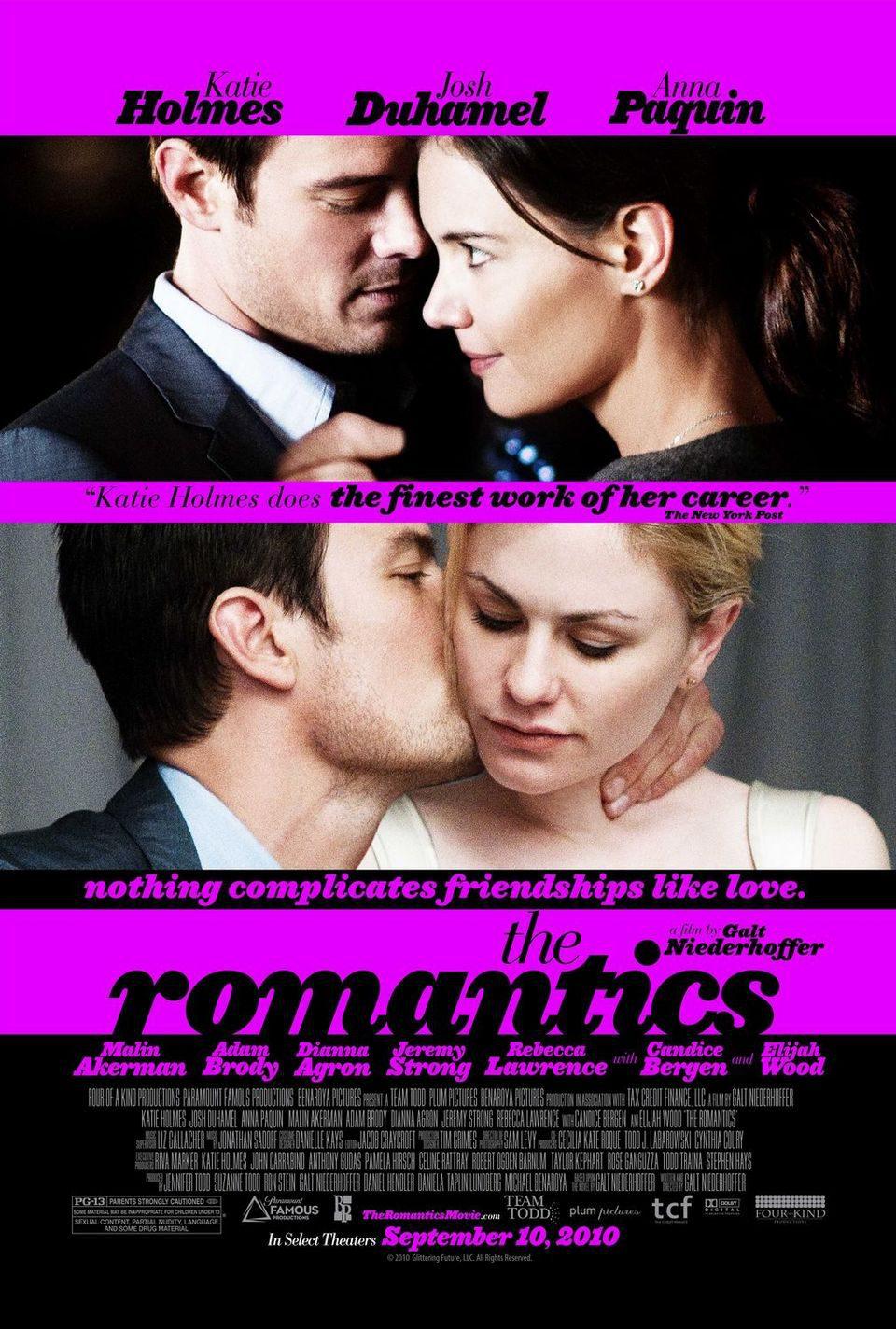 Cartel Estados Unidos de 'The romantics'