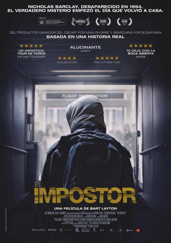 Cartel España de 'El impostor'