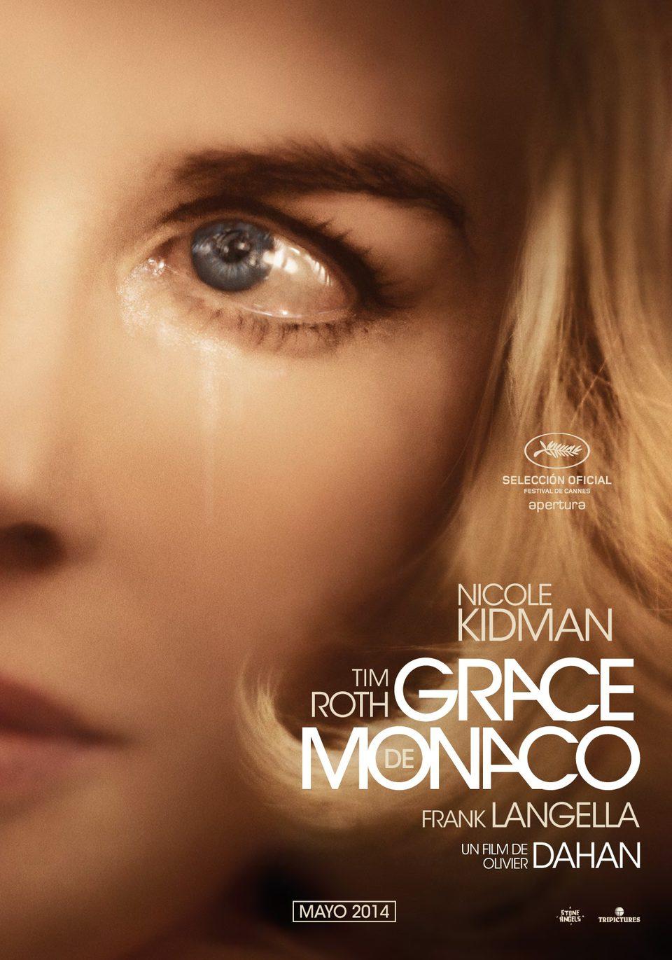 Cartel España de 'Grace de Mónaco'
