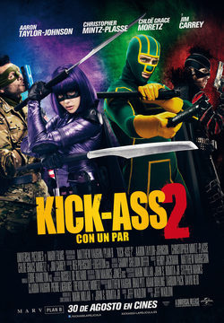 Cartel de Kick-Ass 2: Con un par