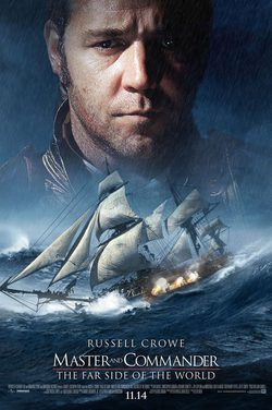 Cartel de Master and Commander: Al otro lado del mundo