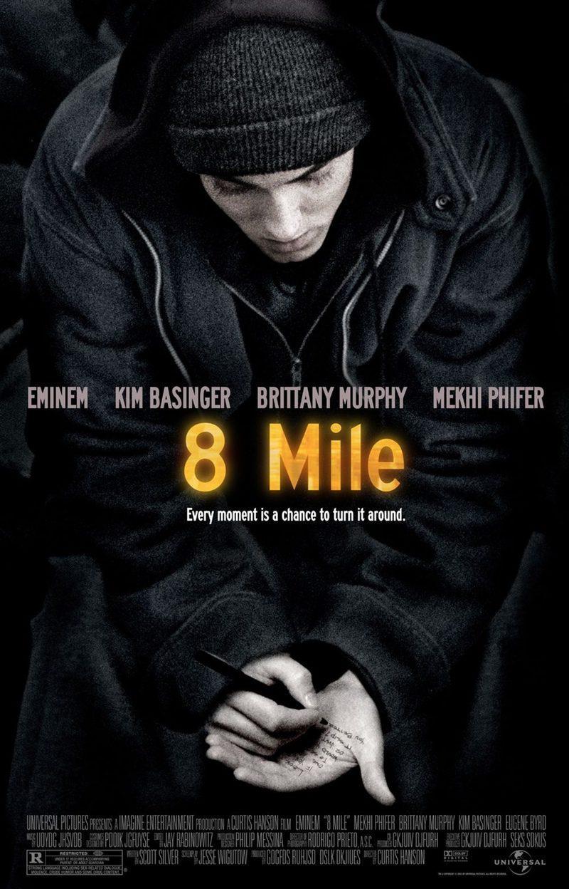 Cartel Estados Unidos de '8 millas'