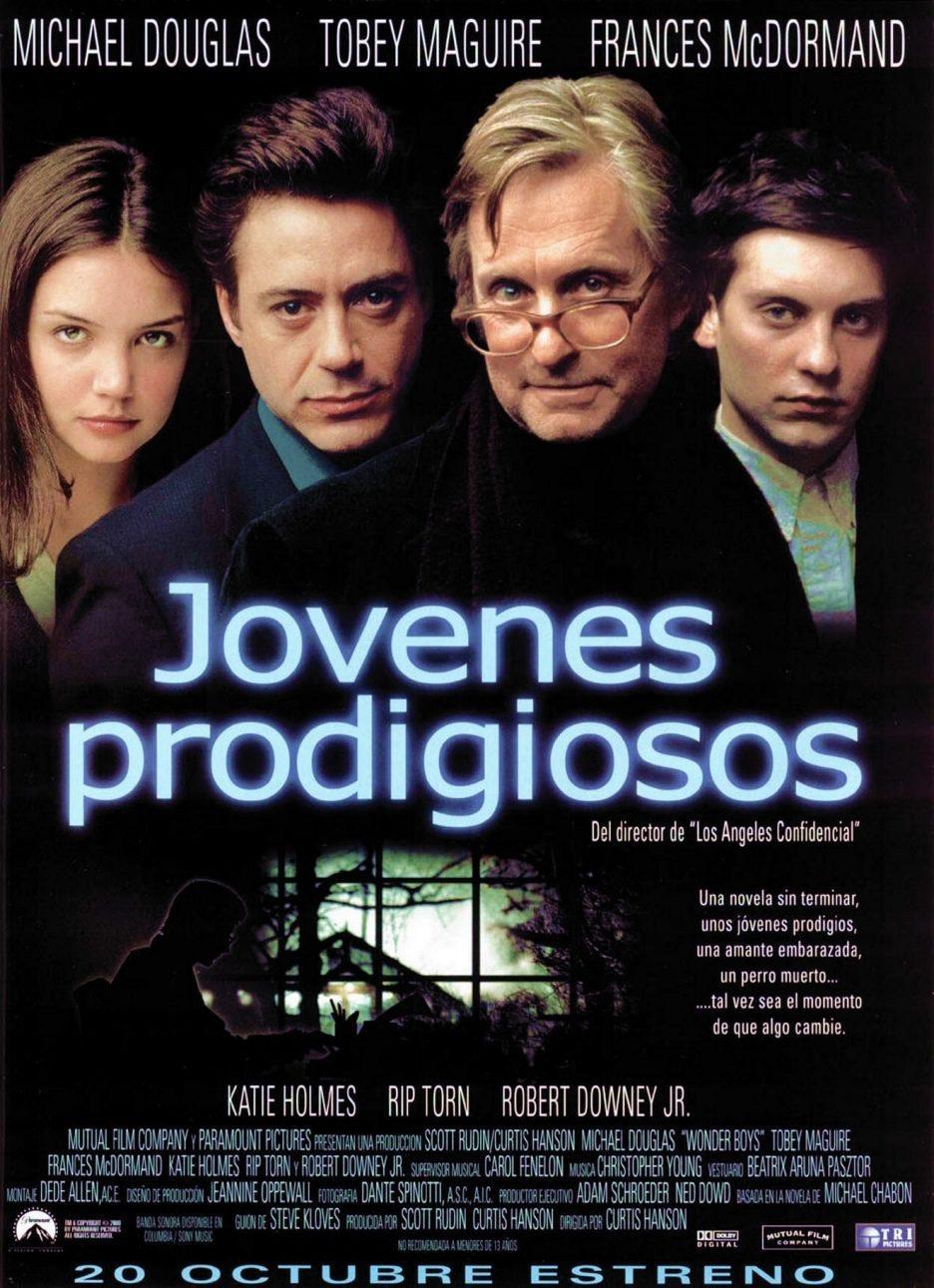 Cartel España de 'Jóvenes prodigiosos'