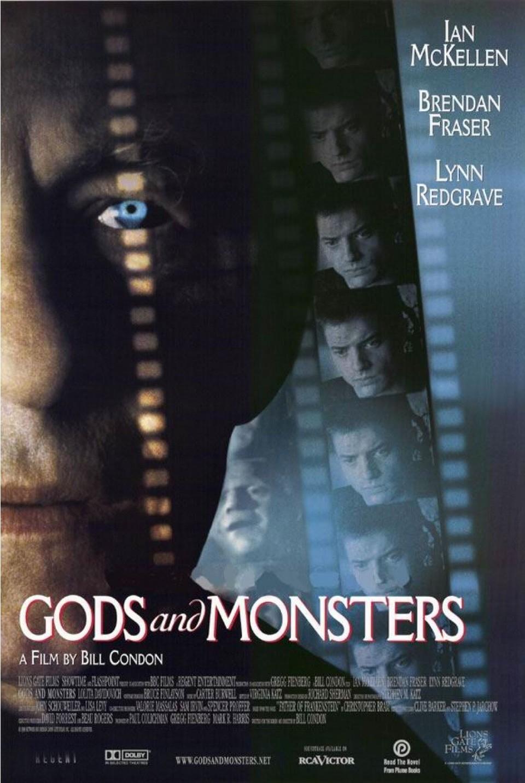Cartel EEUU de 'Dioses y monstruos'