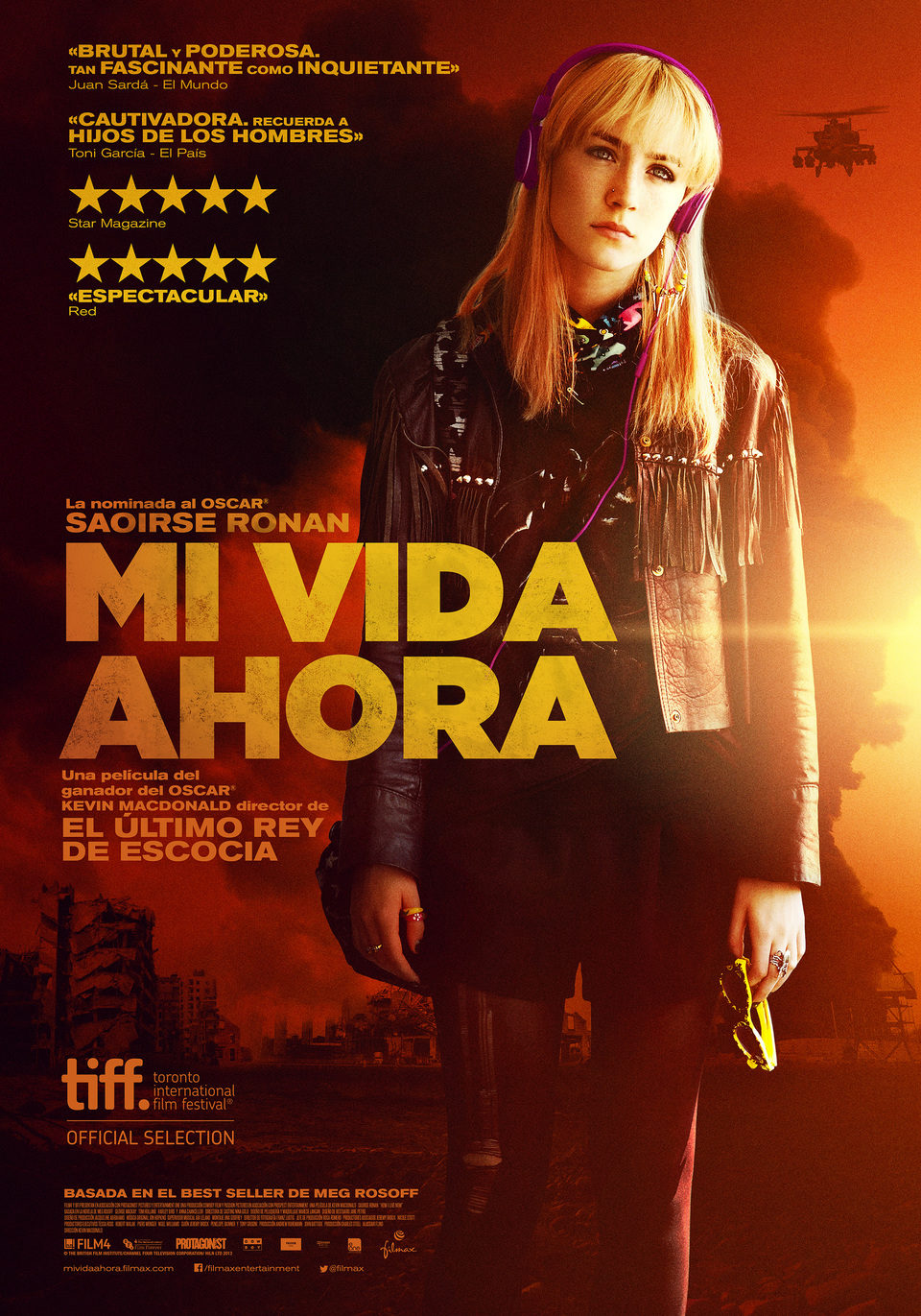 Cartel España de 'Mi vida ahora'