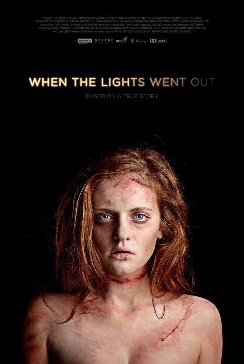 Cartel Reino Unido de 'When the Lights Went Out'