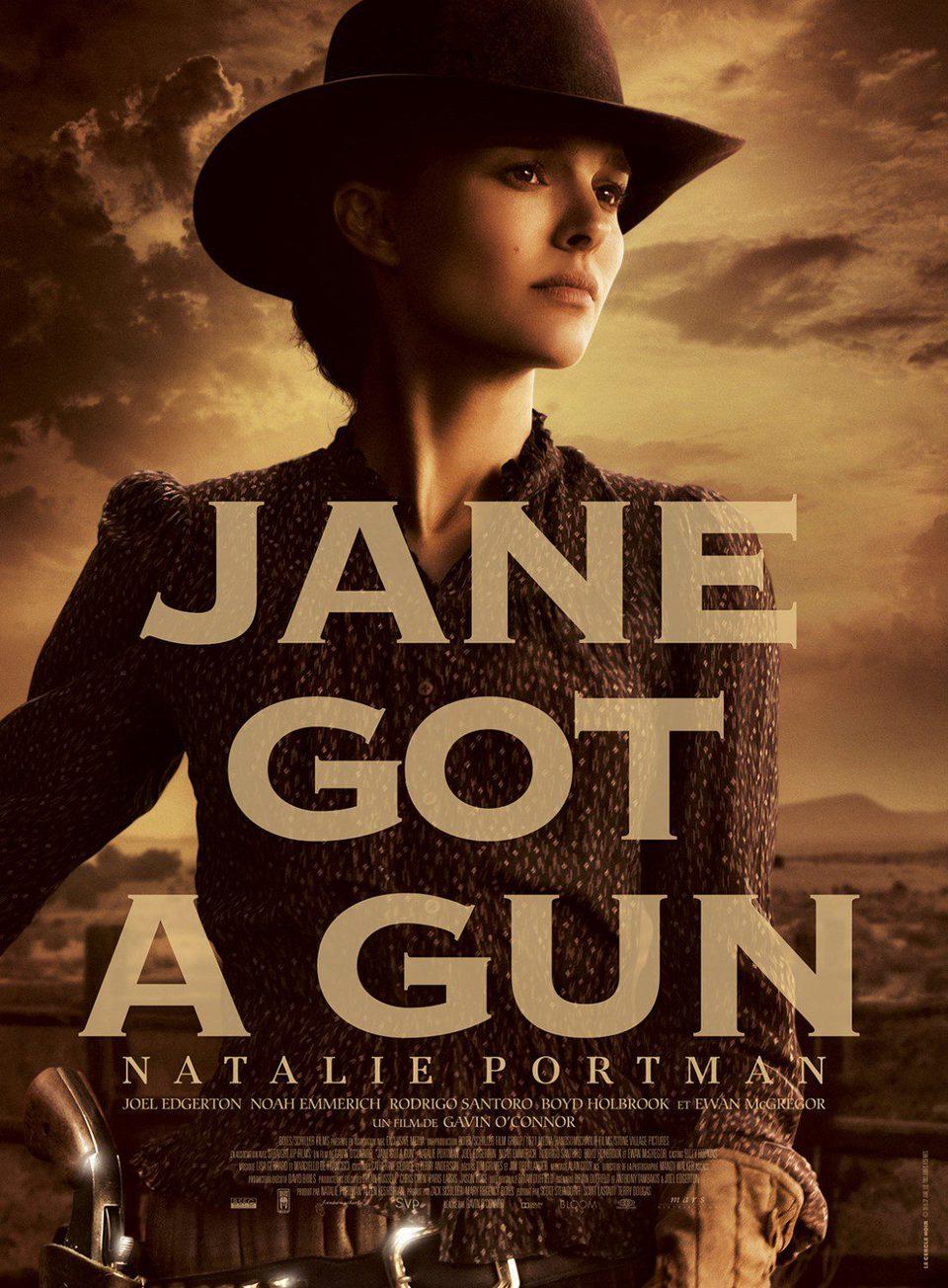 Cartel Natalie Portman de 'La venganza de Jane'