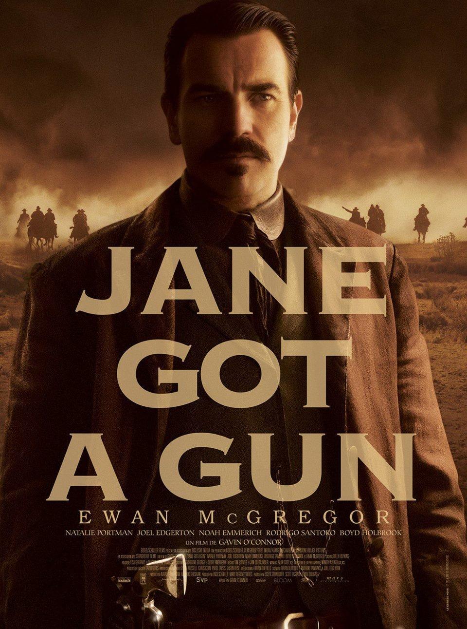 Cartel Ewan McGregor de 'La venganza de Jane'