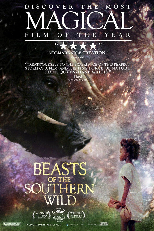 Cartel EEUU de 'Bestias del sur salvaje'