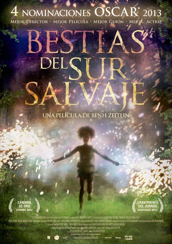 Cartel España de 'Bestias del sur salvaje'