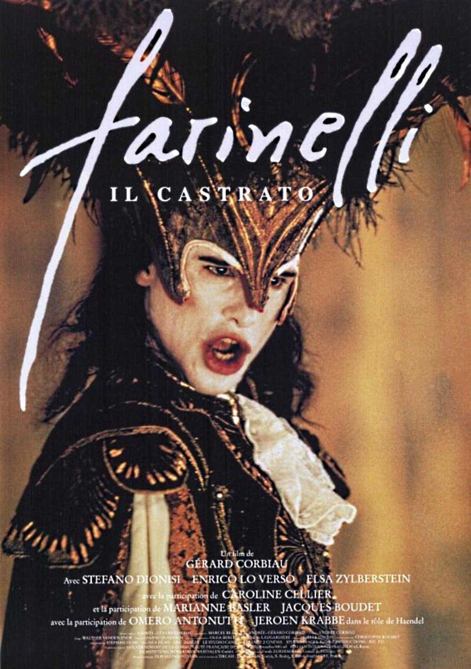 Cartel Francia de 'Farinelli (Il castrato)'