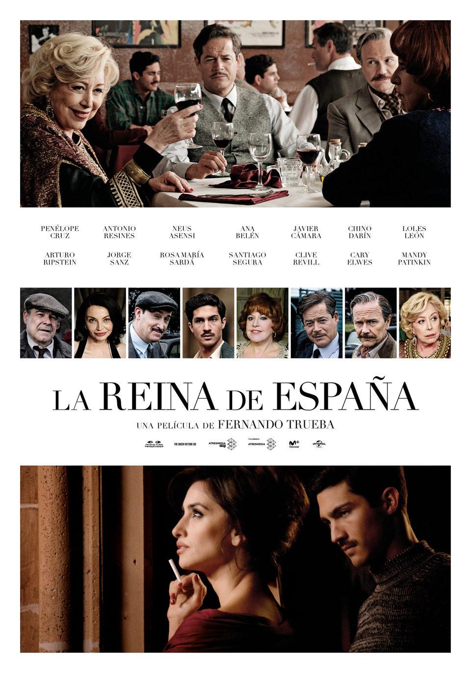 Cartel España de 'La reina de España'