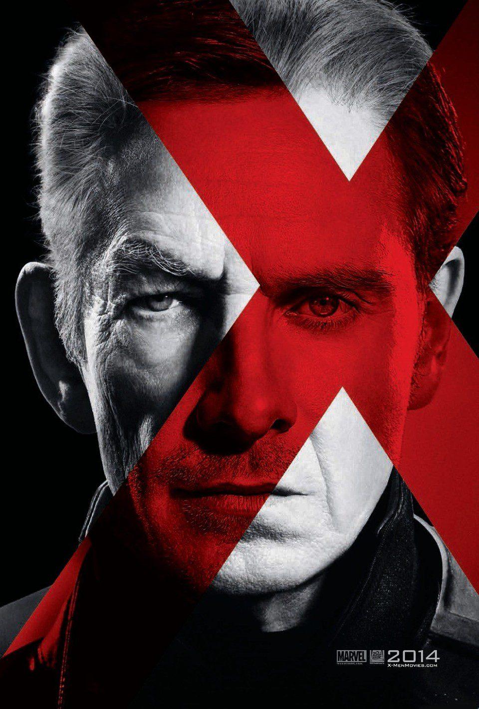 Cartel Magneto de 'X-Men: Días del futuro pasado'