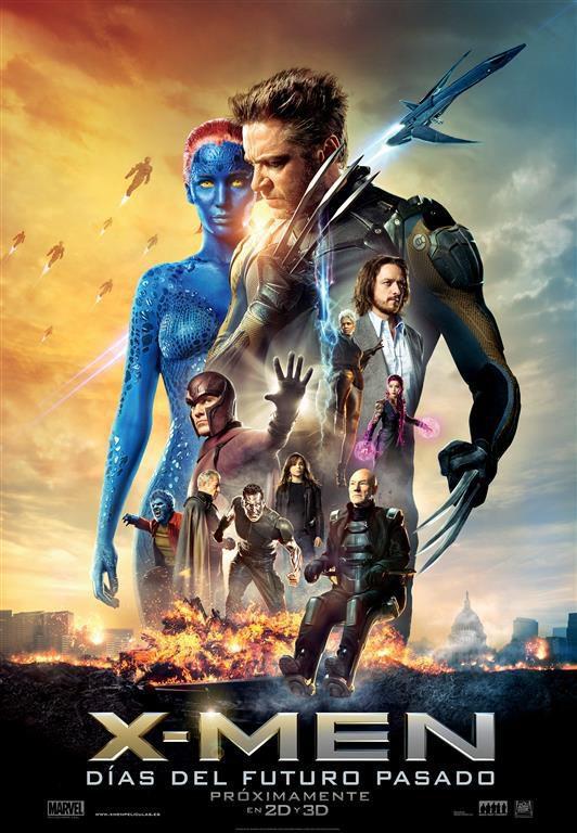 Cartel España de 'X-Men: Días del futuro pasado'