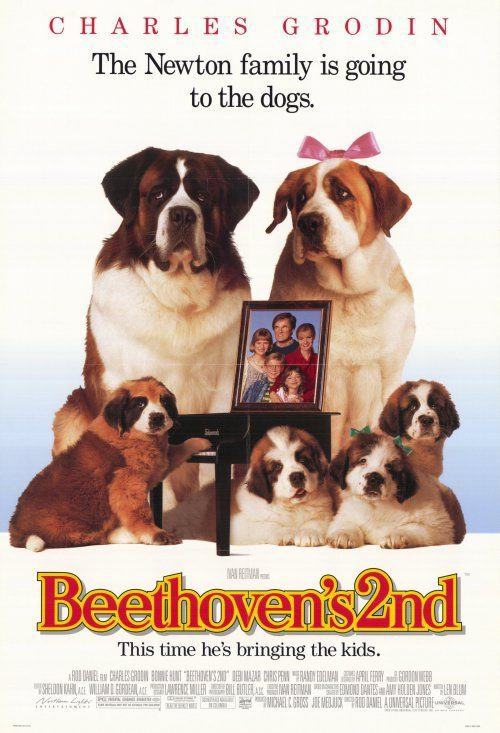 Cartel Estados Unidos de 'Beethoven 2, la familia crece'