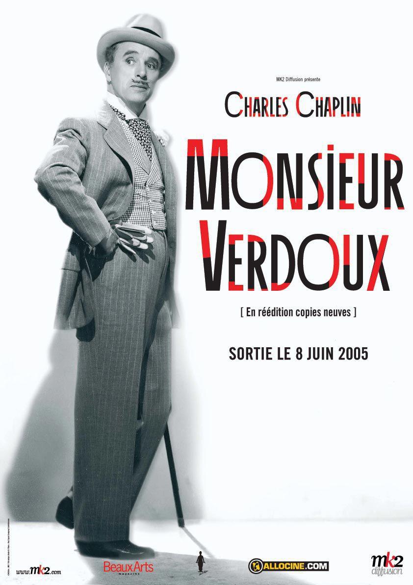 Cartel Estados Unidos de 'Monsieur Verdoux'