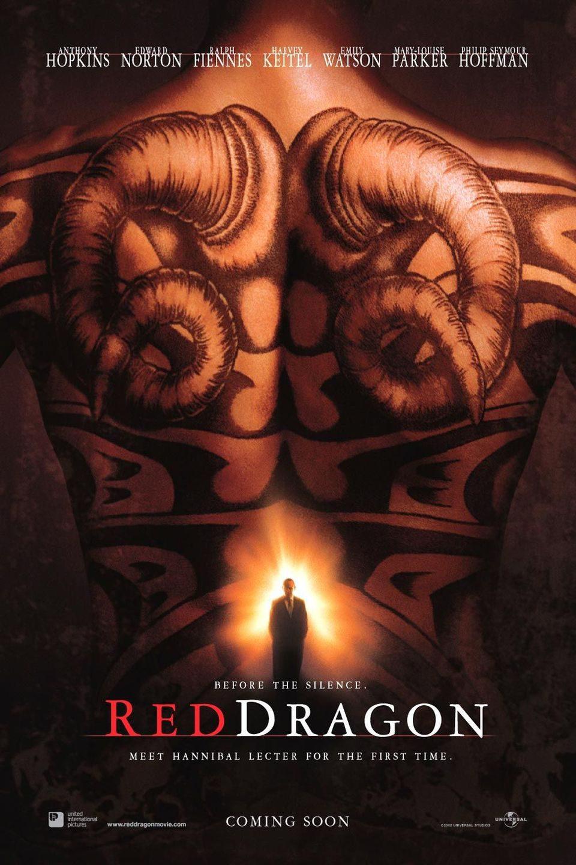 Cartel Estados Unidos de 'El dragón rojo'