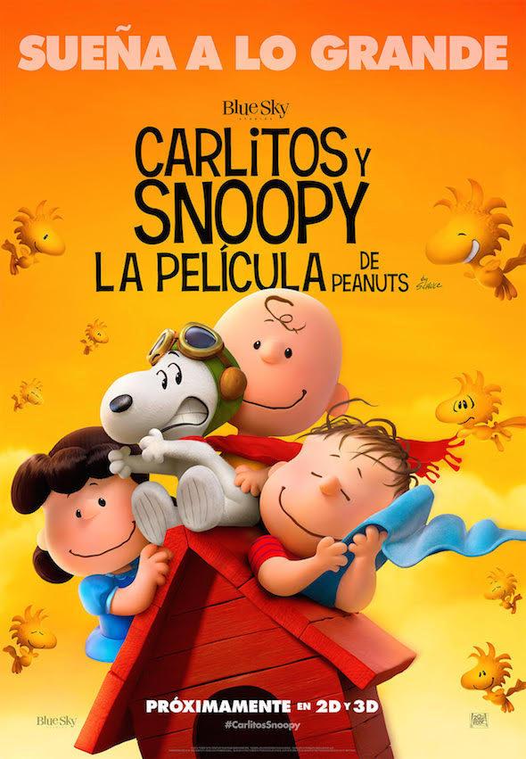 Cartel Carlitos y Snoopy: La película de Peanuts de 'Carlitos y Snoopy: La película de Peanuts'
