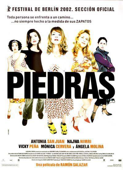 Cartel España de 'Piedras'