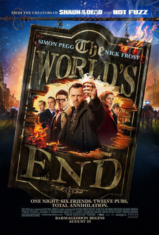 Cartel Reino Unido de 'Bienvenidos al fin del mundo'