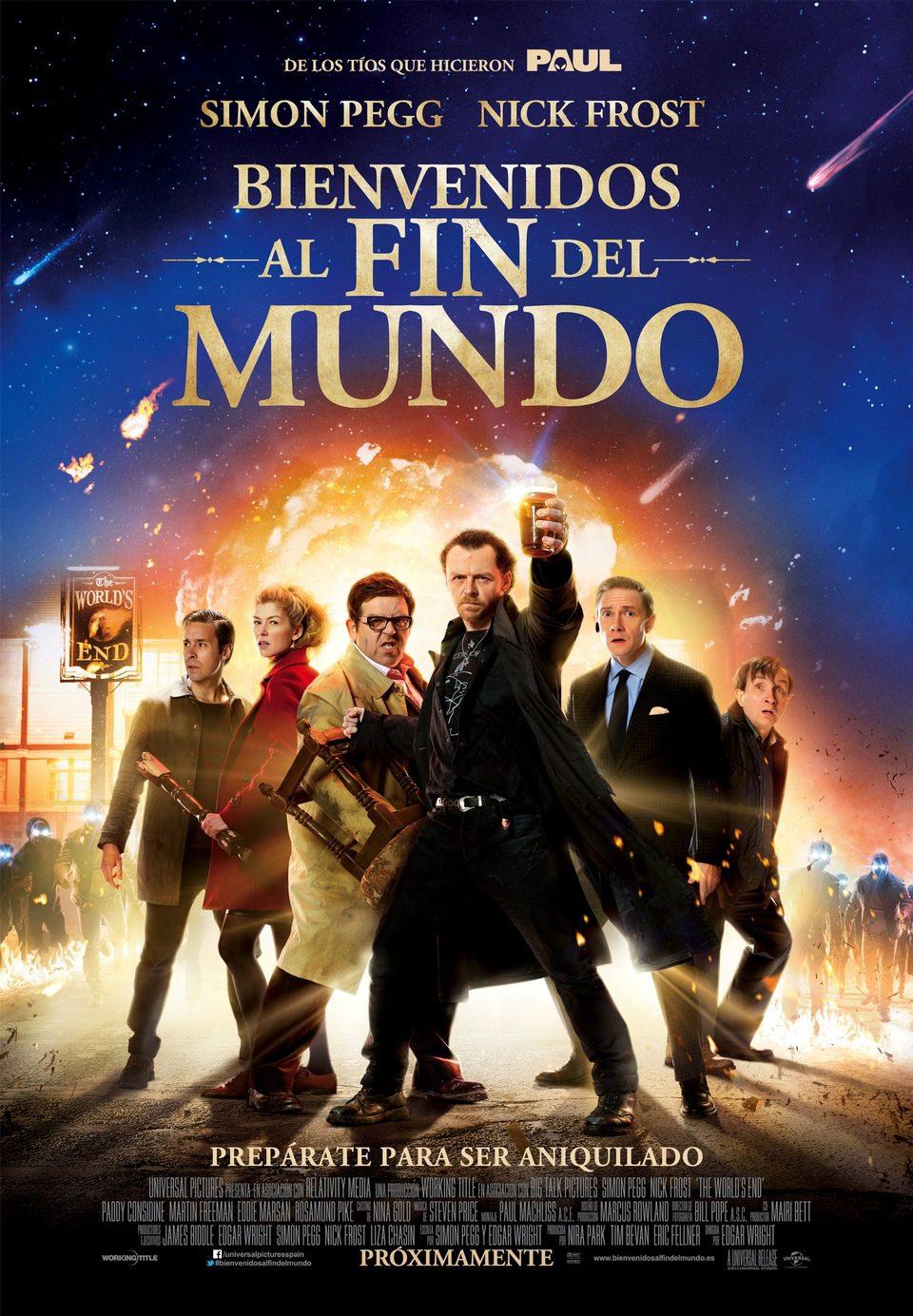 Cartel España de 'Bienvenidos al fin del mundo'