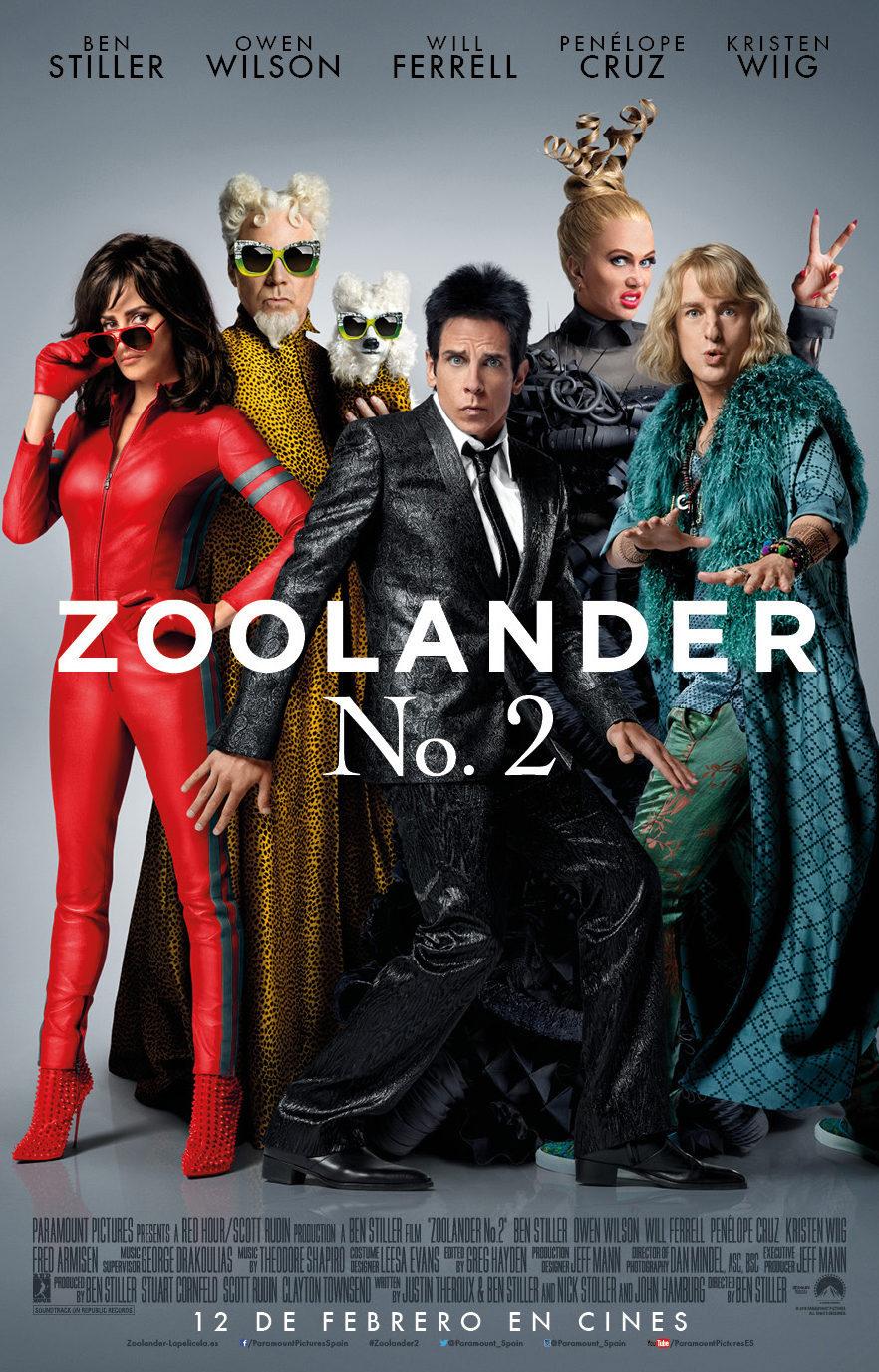 Cartel España oficial de 'Zoolander 2'