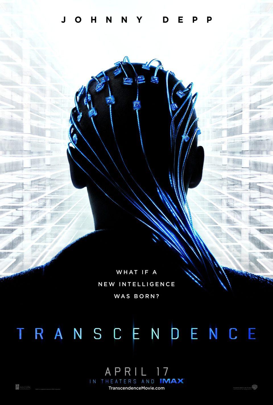 Cartel Estados Unidos de 'Transcendence'