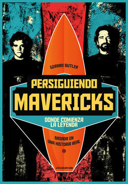 Cartel de Persiguiendo Mavericks