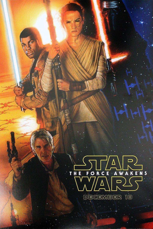 Cartel Estados Unidos de 'Star Wars: Episodio VII - El despertar de la fuerza'