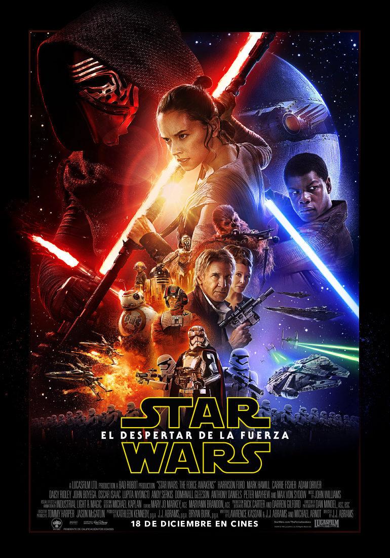 Cartel España de 'Star Wars: Episodio VII - El despertar de la fuerza'
