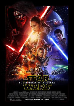 Cartel de Star Wars: Episodio VII - El despertar de la fuerza