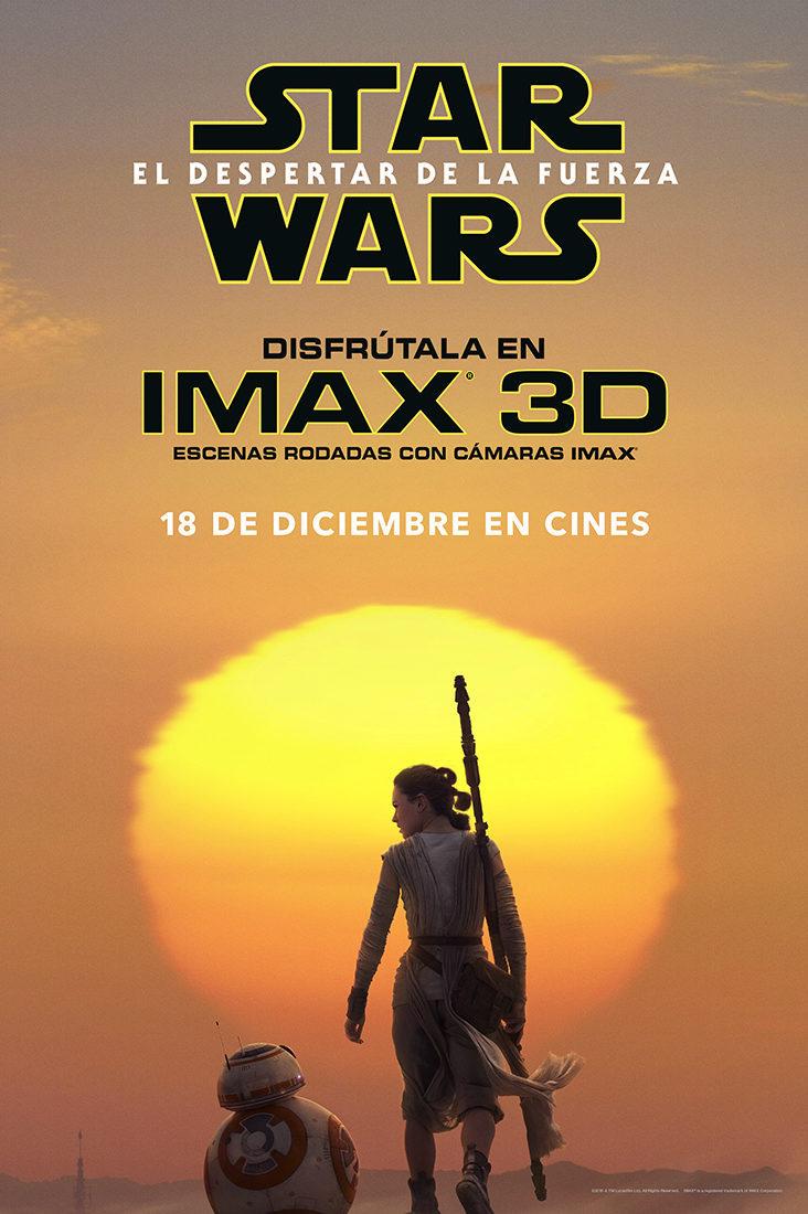 Cartel IMAX de 'Star Wars: Episodio VII - El despertar de la fuerza'