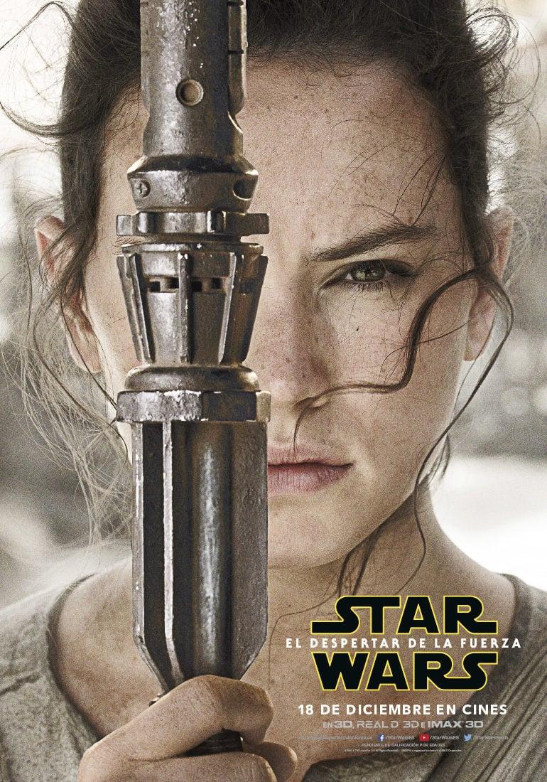 Cartel Rey - España de 'Star Wars: Episodio VII - El despertar de la fuerza'