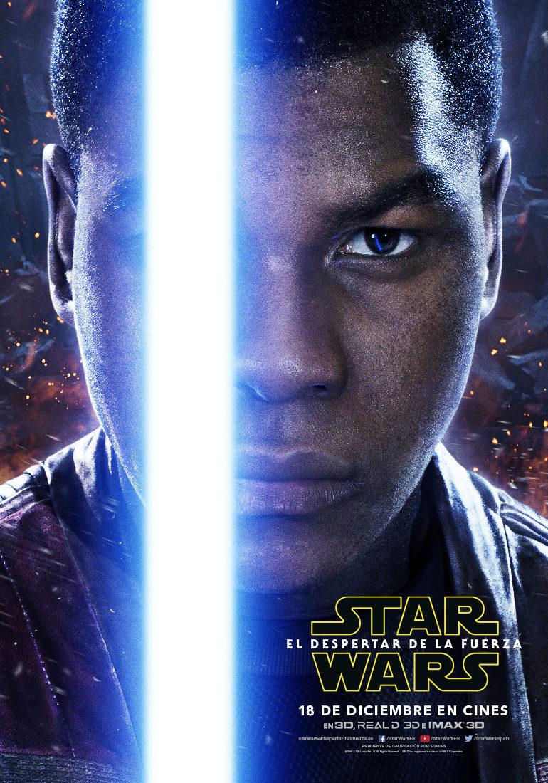 Cartel Finn - España de 'Star Wars: Episodio VII - El despertar de la fuerza'