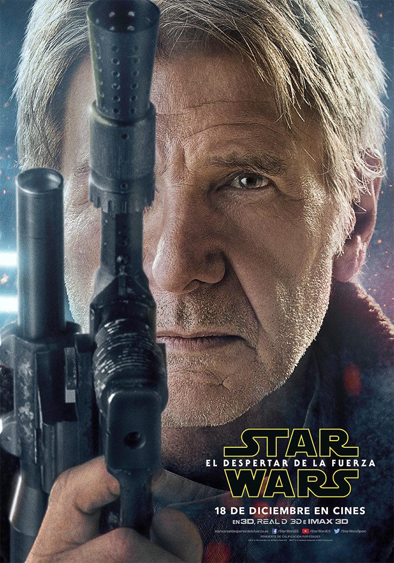 Cartel Han Solo - España de 'Star Wars: Episodio VII - El despertar de la fuerza'