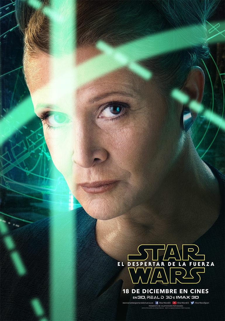 Cartel Leia - España de 'Star Wars: Episodio VII - El despertar de la fuerza'