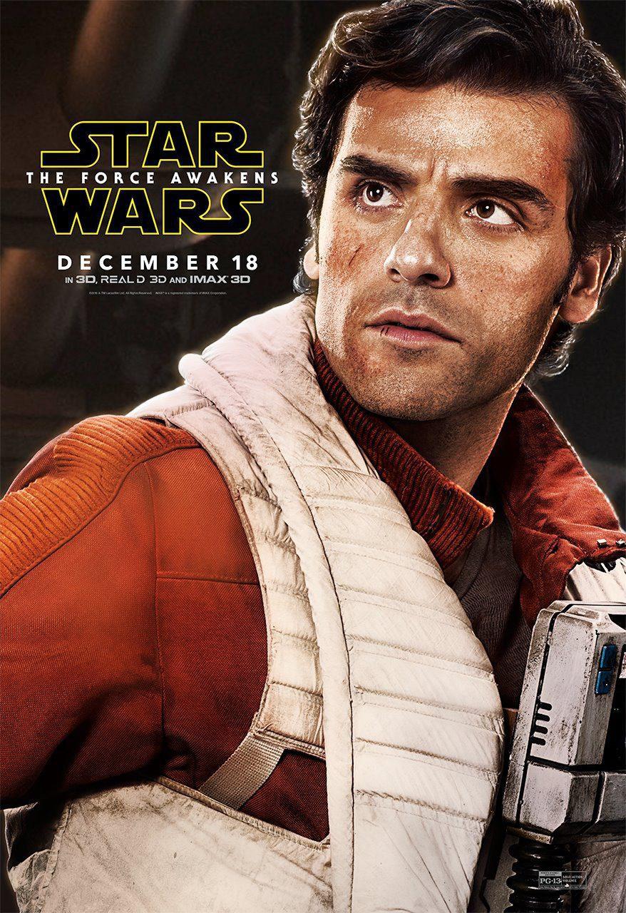 Cartel Poe Dameron - Internacional de 'Star Wars: Episodio VII - El despertar de la fuerza'