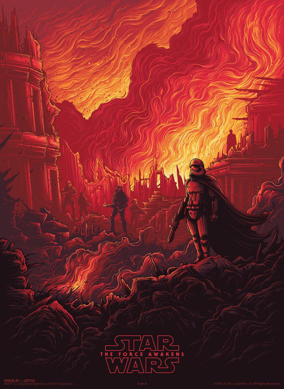 Cartel Phasma de 'Star Wars: Episodio VII - El despertar de la fuerza'