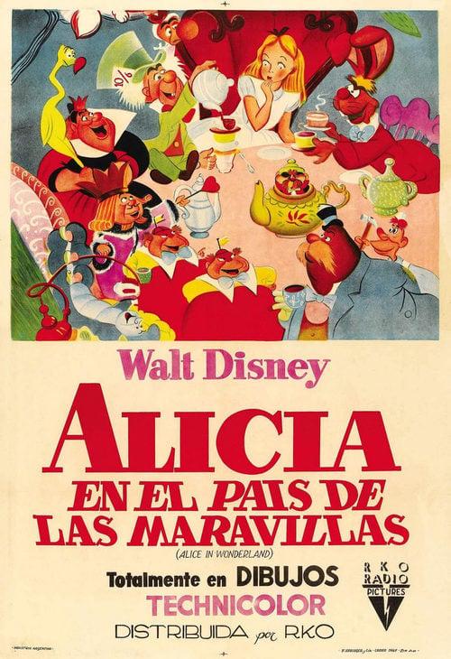 Alicia en el país de las maravillas (1951) - Película